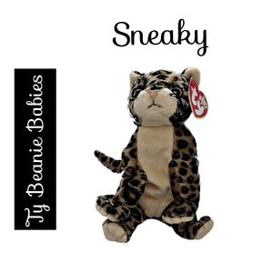 Ty Beanie Babies ~ Sneaky the Cat